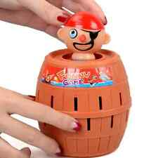 New Creative Pirate Plug Sword Barrel Crisis Kids Toys Gifts Party Funny Game