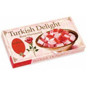500g Rose / Mixed Flavour / Mixed Nut Turkish Delight Large Box WOW Gift