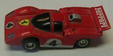 Vintage 1970'S Slot Cars Neat #4 Ferrari Racer Tyco Slot Car Fits Aurora Afx