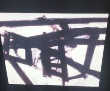 """Franz Kline """"Mahoning """" Abstract Expressionism Action Painting35mm Art Slide"""