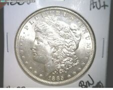 1885-P US MORGAN SILVER DOLLAR CH-AU IN 90% SILVER ~NICE WHITE!