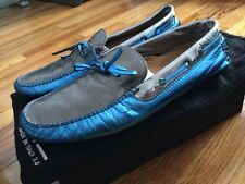 Italia Independent by Arfango Men's Blue Driving Loafers Shoes US 7 Italy