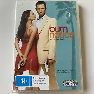 Burn Notice : Complete Season 1 (DVD) Australia Region 4- NEW & SEALED