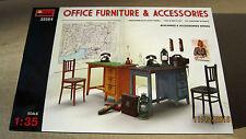OFFICE  FURNITURE & ACCESSORIES  1/35  Mini Art  # 35564