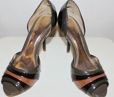 RMK 'Barbier' WomensOpen toe High Heels Size 8 US 39 Euro Used