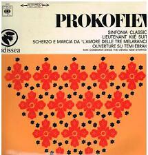 Prokofiev: Sinfonia Classica, Lieutenant Kijé, Etc. / Max Goberman - LP