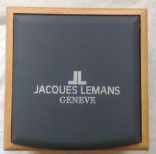 Jacque Lemans' NEW Men's empty watch box 4.5 in. x 4.5 in.x 2.5 in.
