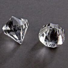 TRANSPARENT 30mm DIAMOND SHAPED TABLE CONFETTI DECORATION