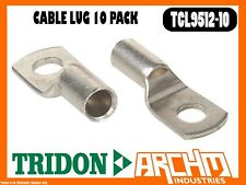 Tridon Tcl9512-10 - Cable Lug - 10 Pack Boxed Cable 95mm² (000 B&S) Stud 12mm