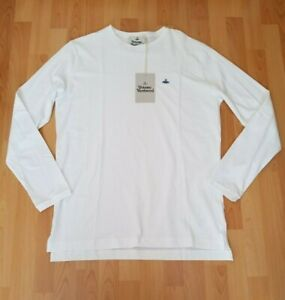 Vivienne Westwood Classic Orb Logo Long Sleeve Top - Size XL  -  NEW