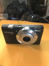 Polaroid (iS827) Black Digital Camera Optical 8x Zoom  UNTESTED No Accessories