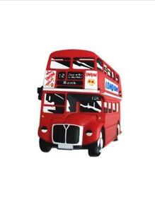 London Bus Rubber Magnet Souvenir London Gifts Fridge Magnet