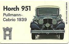 RARE / CARTE TELEPHONIQUE - HORCH 951 PULLMANN CAB 1939 / VOLKSWAGEN / PHONECARD