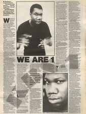 22/7/89Pgn17 Interview: 'we Are 1' A Hot Rapper & Boss Of Boogie Down Krs-1
