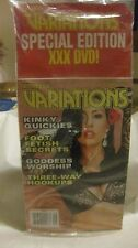 Collectible Penthouse Variations Magazine September 2013 With DVD Included eb105