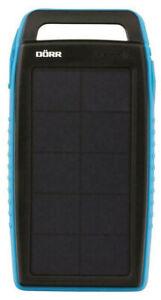 DÖRR Solar Powerbank SC-15000 mAh, Lithium Polymer Accu, blau, NEU OVP!