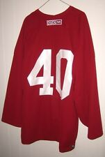 PHOENIX COYOTES Mike Ricci worn red CCM #40 practice jersey from 2005-06 season