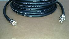 US MADE  RG-213/U   CB  Ham Radio  BNC Male  to  PL259 UHF coax cable 15 FT