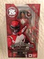 *Autographed* *Signed* Red Power Ranger Austin St John Jason S.H. Figuarts SDCC