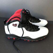 online retailer 1c859 56fa4 Jordan 10 Retro Chicago Bulls Talla 12 Nuevo en Caja Vintage Rojo Blanco  Negro Nike