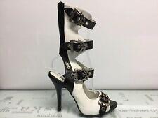 Demonia Zombie White Heel Size 7