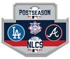 2021 NLCS CHAMPIONSHIP GAME PIN ATLANTA BRAVES LOS ANGELES DODGERS WORLD SERIES