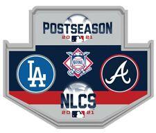 2021 Nlcs Championship Jeu Broche Atlanta Braves Los Angeles Dodgers World Série