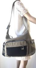 Catini Diaper Bag, Shoulder Bag, Green Canvas