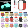 Case Cover Earphones Pouch Candy Color Split Sleeve For Apple AirPods 1 2