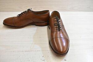 Johnston & Murphy Melton Cap Toe Leather Oxford, Men's Size 12 3E, Tan MSRP $179