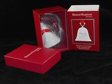 """Reed & Barton Collectible 2016 Silverplate Bell Ornament """"Ringing in the Season�"""