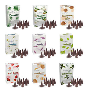 STAMFORD Incense Dhoop Cones *Many Fragrance Insence Cone Scent Aromatherapy Spa