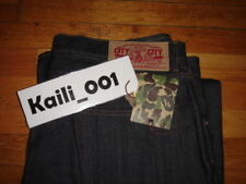 A Bathing APE Raw Denim Front Star XXL w40 JEANS Bapesta OG Shark B