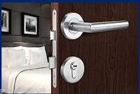 WS Western Style High-End 304Stainless Steel Double Lock Tongue Type Indoor Lock