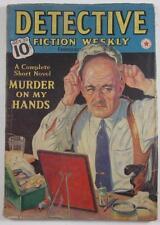 DETECTIVE FICTION WEEKLY OCT 22 1938 DR SKULL RICHARD SALE STEVE FISHER K KRAUSE