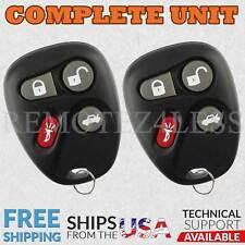 2 Remote for 2001 Chevrolet Malibu Keyless Entry