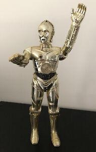 "C-3PO Star Wars Vintage 1978 - 12 ""Shiny Gold Figure - Made In Hong Kong"
