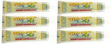 6 Pk Childrens Xylitol Orange Natural Toothpaste 5.4Oz Gluten Free No Sugar SAFE