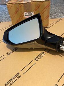 Lexus Ls500 2018-2020 Left Side Miror With Blind Dim Heat Camera Afold Oem Used