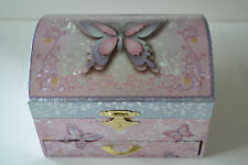 Girls Ballerina Jewellery Music Musical Box Butterfly Ideal Flower Girl Gift