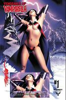 VENGEANCE OF VAMPIRELLA #1 MIKE MAYHEW STUDIO VARIANT COVER A SIGNED WITH COA