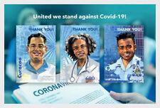Stamps Curacao 2020. - COrona-19 - Miniature Sheet.