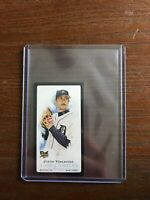 2006 Topps Allen & Ginter Justin Verlander RC Black Mini A&G Rookie