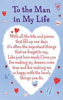 To the Man in My Life Heartwarmers Keepsake Credit Card & Envelope Gift