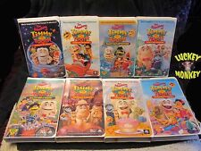 8 Adventures of Timmy the Tooth VHS ~Malibu Space Gulch Birthday Brush Rainy Day