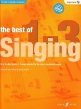 BEST OF SINGING Grades 1-3 Pegler High + CD*
