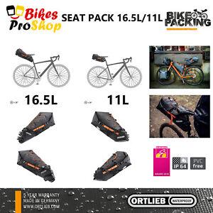 ORTLIEB Seat Pack - Bike Bicycle Seat Saddle Bag WATERPROOF MADE IN GERMANY 2021