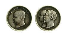 pcc1838_68) Médaille Napoléon III BAPTEME DU PRINCE IMPERIAL 14 juin 1856 mm 16