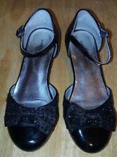 Wonder Kids Girls Black Dress Shoes Size 13