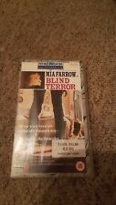 BLIND TERROR MIA FARROW HOLLYWOOD HORROR COLLECTION VHS PAL VIDEO